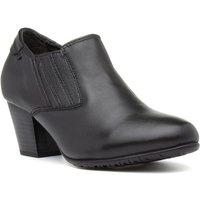 Comfort Plus Lucia Black Leather Shoe