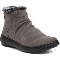 Lunar Tammy Womens Grey Wedge Ankle Boot