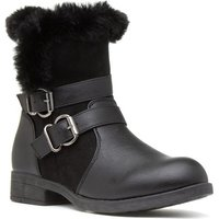 Heavenly Feet Womens Brown Zip Detail Ankle Boot