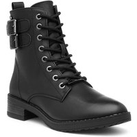 Soft Line Womens Black Calf Length Boot