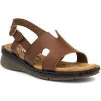 Lunar Womens Multi-Coloured Toe Catch Flat Sandal