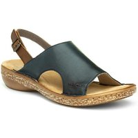 Earth Spirit Womens Tan Leather Strappy Sandal