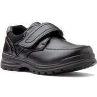Trux Boys Black Easy Fasten Shoe