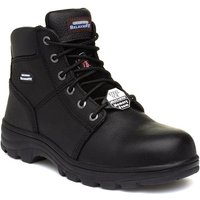 Image of Skechers Workshire Mens Black Lace Up Safety Boot