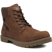 Red Tape Mens Tan Leather Lace Up Boot