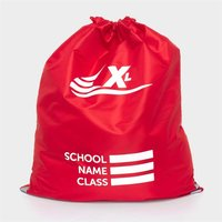 Red Plimsoll Bag with Reflective Panels