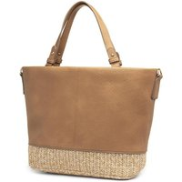 Heavenly Feet Tan Handbag