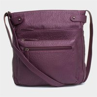 Lilley Womens Burgundy Cross Body Handbag