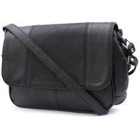 Lilley Black Organiser Shoulder Bag