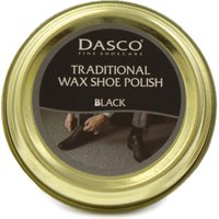 Dasco Traditional Black Wax Shoe Polish