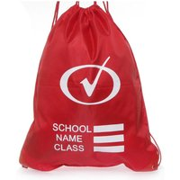 Plimsoll Bag in Red