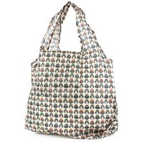 Lilley Beige Owl Printed Shopper Bag