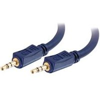 C2G 1m Velocity™ 3.5mm M/M Stereo Audio Cable
