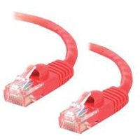C2G 1.5m Cat5E 350 MHz Snagless Patch Cable - Red