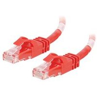 C2G 2m Cat6 550 MHz Snagless Patch Cable - Red