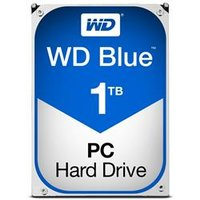 WD Blue 1TB Desktop Hard Disk Drive - 7200RPM SATA 6Gb/s 64MB Cache 3.5 Inch - WD10EZEX