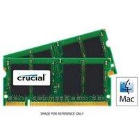 Crucial 16GB (2 x 8GB) DDR3 1333MHz PC3-10600 204pin SODIMM CL9 Mac