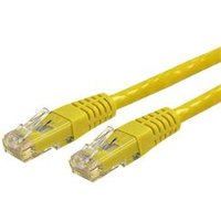 StarTech.com 7 ft Cat 6 Yellow Molded RJ45 UTP Gigabit Cat6 Patch Cable