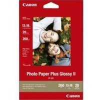 Canon PP-201 Photo Paper Plus II Glossy 20 Sheets