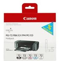 Canon PGI-72 PBK/GY/PM/PC/CO Multipack - ink tank - 5 Inks