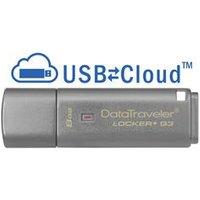 Kingston 8GB DataTraveler Locker+ G3 USB3 Flash Drive GDPR Compliant