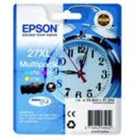 Epson 27XL Multi-Pack Yellow/Cyan/Magenta Durabrite Ultra Ink