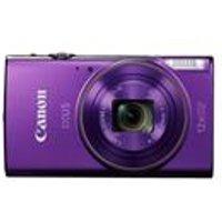 Canon IXUS 285 HS Camera Purple 20.2MP 12x Zoom FHD 25mm Wide WiFi