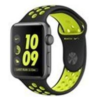 Apple Watch Nike+, 42mm Space Grey Aluminium Case with Black/Volt Nike Sport Band