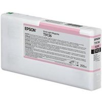 Epson T9136 200ml Vivid Light Magenta Original Ink