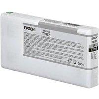 Epson Epson T9137 - 200 ml - light black - original - ink cartridg
