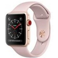 Apple Watch Series 3 GPS + Cellular 38mm Gold Aluminium Case Pink