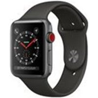 Apple Watch Series 3 GPS + Cellular, 42mm Space Grey Aluminium Case with Grey Sport Band