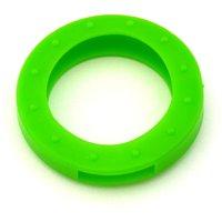 Schlüsselkennring rund, groß-hellgrün