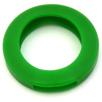Schlüsselkennring rund, klein-grün