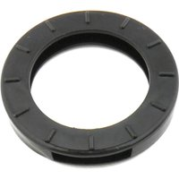 Schlüsselkennring rund, klein-schwarz