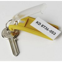 DURABLE Schlüsselanhänger gelb