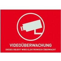 Warnaufkleber Videoüberwachung