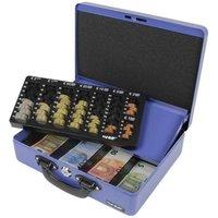 HMF Premium Line Geldkassette 10026 in blau
