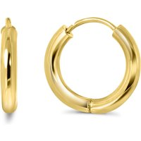 Gouden creolen VX6TH0002.5-10