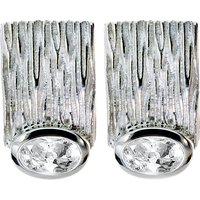 Zilveren oorknoppen met topaas 231380-W