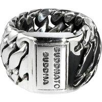 Zilveren ring Ben 490
