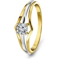 Gouden ring met zirkonia 59277Z-Y