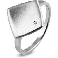 Zilveren damesring met diamant RNC16745001