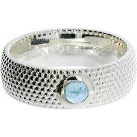 Zilveren ring met topaas 210200-T
