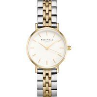The Small Edit White Steel Silver Gold Duo26SGD-269