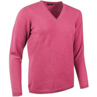 1 Pack Dakar Made In Scotland 100% Cashmere V Neck Purples and Pinks Ladies Large - Great and British Knitwear