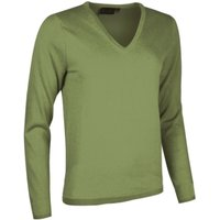 1 Pack Foliage Made In Scotland 100% Cashmere V Neck Browns and Greens Ladies Medium - Great and British Knitwear