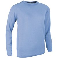 1 Pack Blue Haze Made In Scotland 100% Cashmere Round Neck Blues Ladies Small - Great and British Knitwear