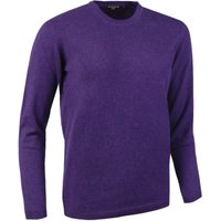 1 Pack Ametista Made In Scotland 100% Cashmere Round Neck Pinks and Purples Ladies Extra Small - Great and British Knitwear