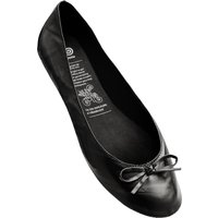 1 Pair Black Black Rollable After Party Shoes to Keep in Your Handbag Ladies Large (7-8) - Rollasole